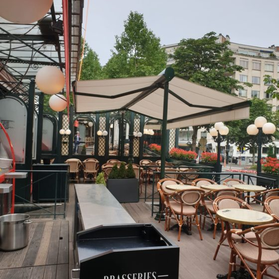 Terrasol Les brasseries Georges Bruxelles