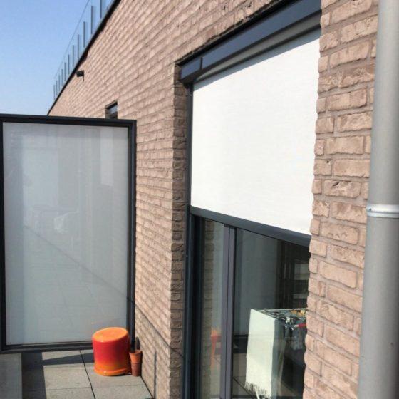 screen, protection solaire blanche pour fenêtre