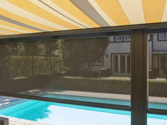 Screen et tente solaire