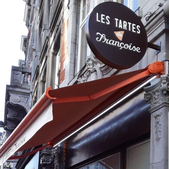 enseigne lumineuse tartes francoise